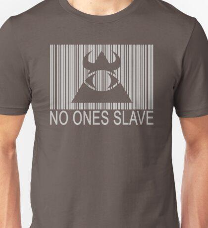 Illuminati - No Ones Slave Unisex T-Shirt