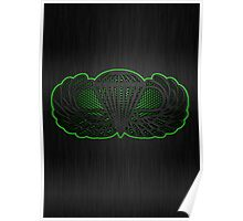 Android Metal Jump Wings Poster
