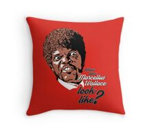 Jules Winnfield - Pulp Fiction Throw Pillow