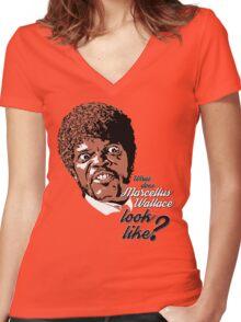Jules Winnfield - Pulp Fiction Women's Fitted V-Neck T-Shirt