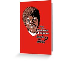 Jules Winnfield - Pulp Fiction Greeting Card