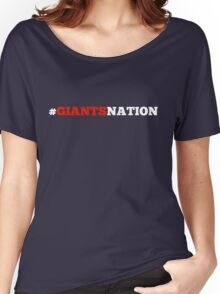 Giants Nation Women's Relaxed Fit T-Shirt