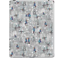 birds and rockets iPad Case/Skin