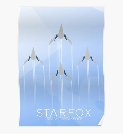 Ready for Takeoff - Starfox Poster
