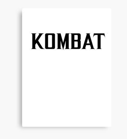 Mortal Kombat - KOMBAT X Canvas Print