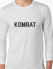 Mortal Kombat - KOMBAT X Long Sleeve T-Shirt
