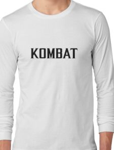 Mortal Kombat - KOMBAT X Long Sleeve T-Shirt