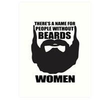beards Art Print