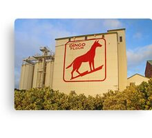 Dingo Flour Mill  Canvas Print