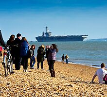 Welcome USS Theodore Roosevelt  by thermosoflask