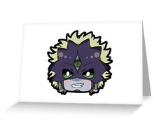 Chibi Beelzebumon Greeting Card