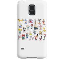 90s Cartoon Characters Samsung Galaxy Case/Skin