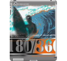 edgy surf iPad Case/Skin