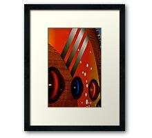 Disco-Teak Framed Print