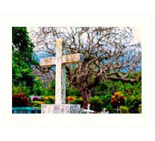 Crosses To Bear - Altagracia, Nicaragua Art Print
