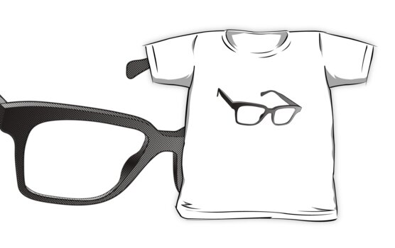 Glasses of Geek by geekchic  tees