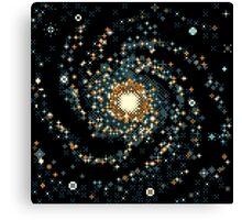 Messier 101 (8bit) Canvas Print