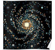 Messier 101 (8bit) Poster