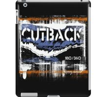 cutback iPad Case/Skin