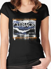 cutback Women's Fitted Scoop T-Shirt