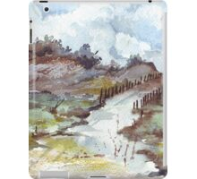 The road to a friend iPad Case/Skin
