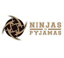 Ninjas in Pyjamas Photographic Print