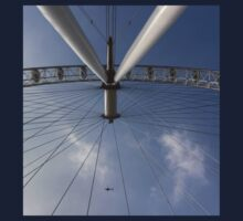 The London Eye And Apache Helicopter One Piece - Short Sleeve