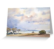 Landscape (after T.Chamerlain) by Nick Clark Greeting Card