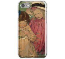 Jessie Willcox Smith - The Daisy Wreath iPhone Case/Skin