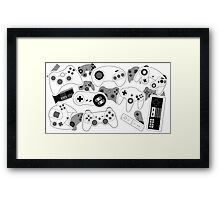 Controllers! Framed Print