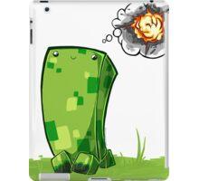 Happy Creeper iPad Case/Skin