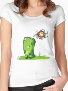 Happy Creeper Women's Fitted Scoop T-Shirt