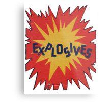 Explosive! Metal Print