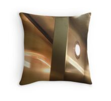 Lifted Door Reflections and Shadows Throw Pillow