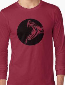 Snake head moon Long Sleeve T-Shirt