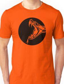 Snake head moon Unisex T-Shirt