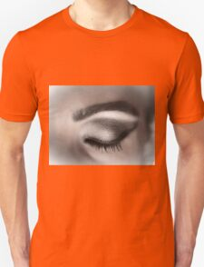 Eye makeup in shades of gray Unisex T-Shirt