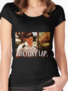 Victory Lap Women's Fitted Scoop T-Shirt