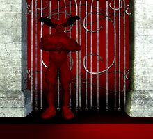 guardian of the gate by Cheryl Dunning