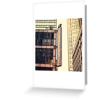 Joffrey Ballet Square Greeting Card
