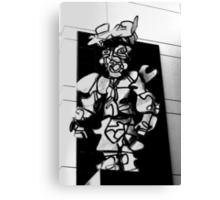 Street art as man Canvas Print