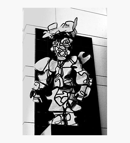 Street art as man Photographic Print