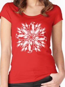 Penguin ZOOFLAKE Women's Fitted Scoop T-Shirt