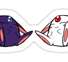 The Time and Space Twins Sticker