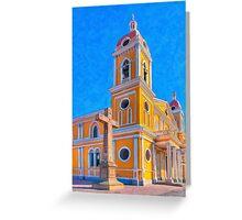 Crosses & Towers - Granada, Nicaragua Greeting Card