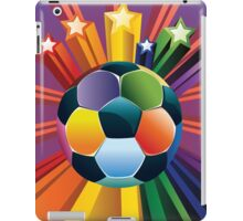 Soccer Ball with Stars iPad Case/Skin