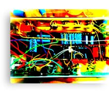 Wicked Wiring Canvas Print