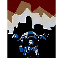 RoboCop Photographic Print