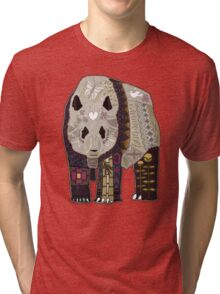 chocolate panda red Tri-blend T-Shirt