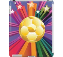 Soccer Ball with Stars 2 iPad Case/Skin